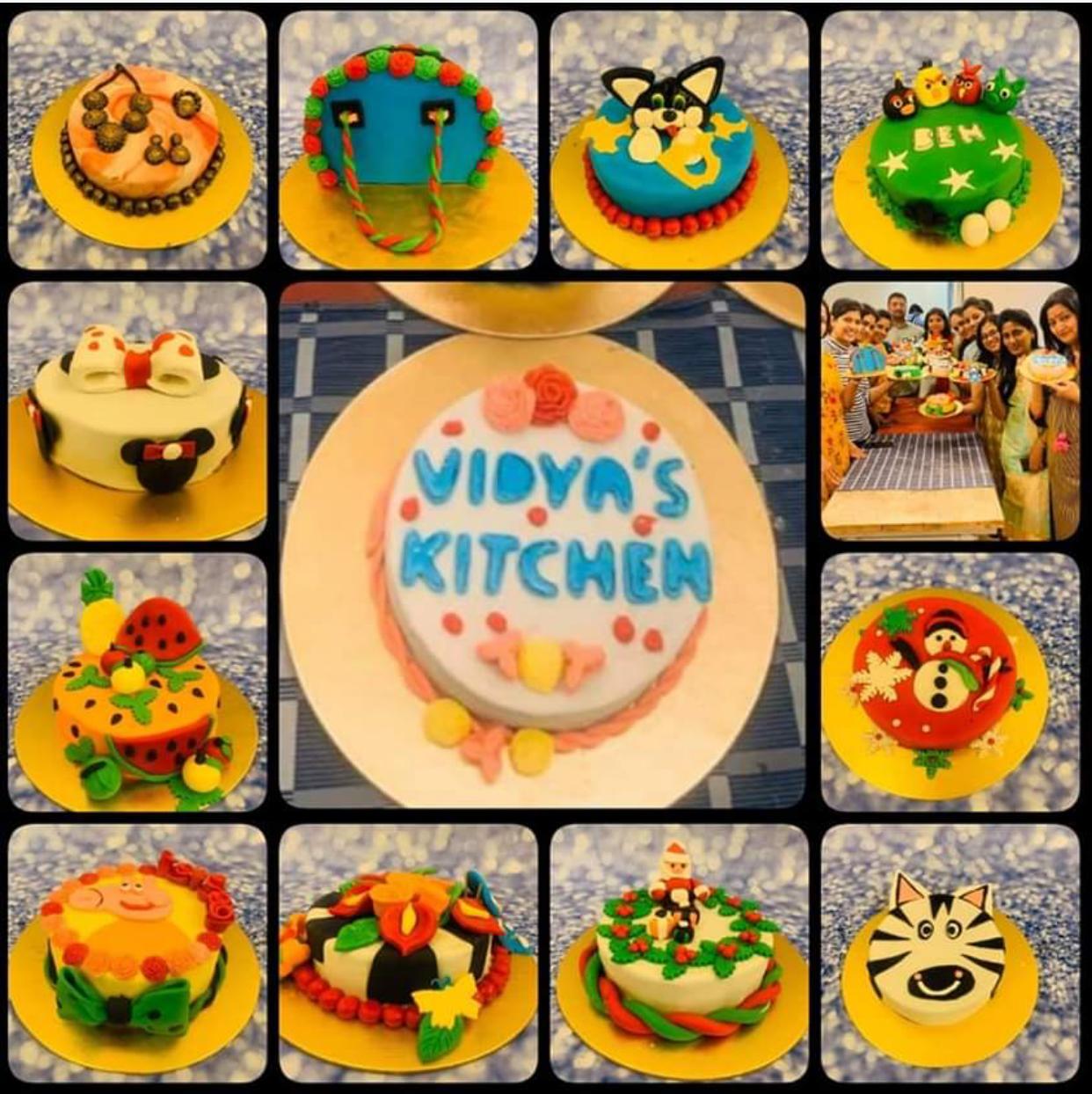 FONDANT CAKE CLASS IN PANAJI